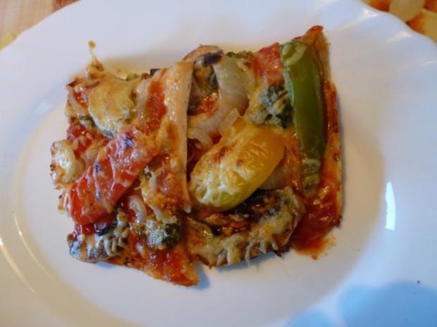 Etwas Neues genug Vegetarische Pizza - Rezept mit Bild - kochbar.de @EG_43