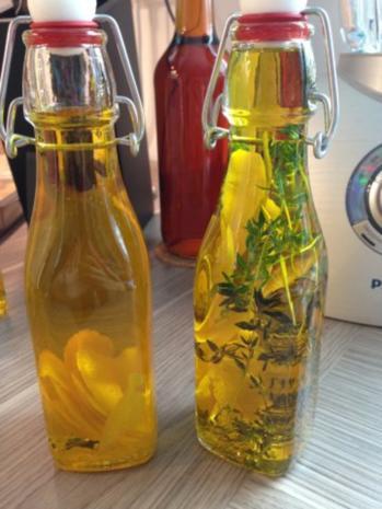 Zitronen-Öl - Rezept