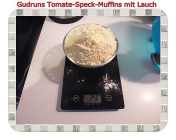 Muffins: Tomate-Speck-Muffins mit Lauch - Rezept - Bild Nr. 3