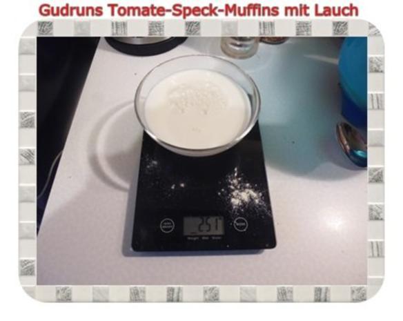 Muffins: Tomate-Speck-Muffins mit Lauch - Rezept - Bild Nr. 4