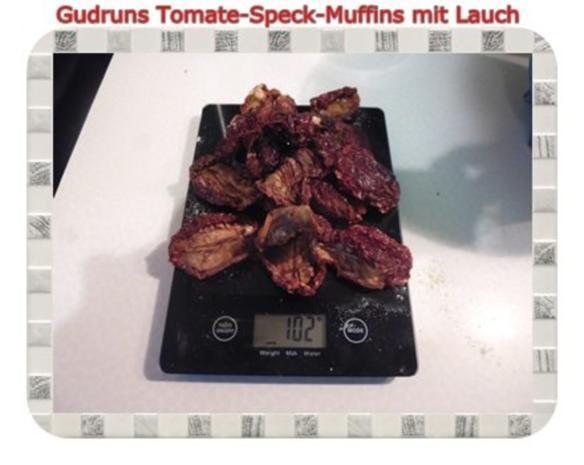 Muffins: Tomate-Speck-Muffins mit Lauch - Rezept - Bild Nr. 5