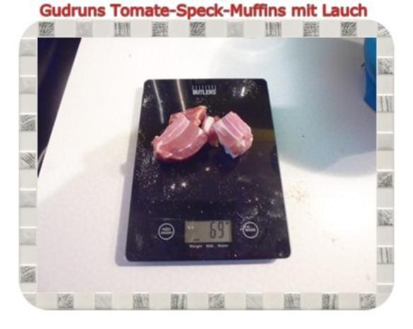 Muffins: Tomate-Speck-Muffins mit Lauch - Rezept - Bild Nr. 7