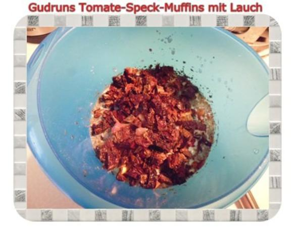 Muffins: Tomate-Speck-Muffins mit Lauch - Rezept - Bild Nr. 8