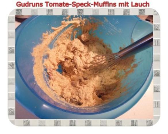 Muffins: Tomate-Speck-Muffins mit Lauch - Rezept - Bild Nr. 9