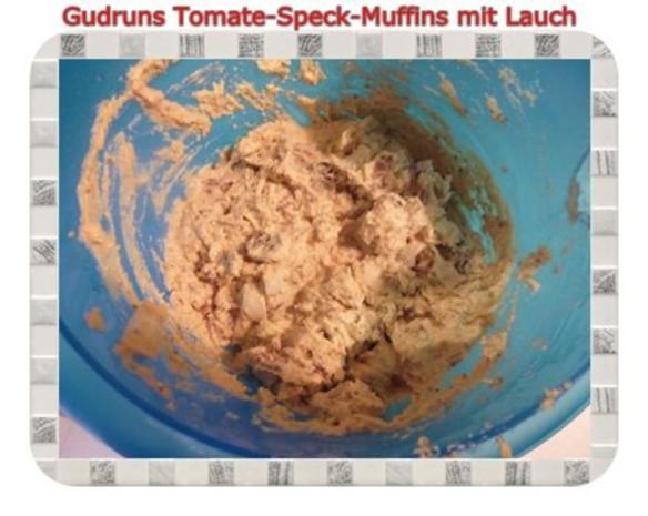 Muffins: Tomate-Speck-Muffins mit Lauch - Rezept - Bild Nr. 10