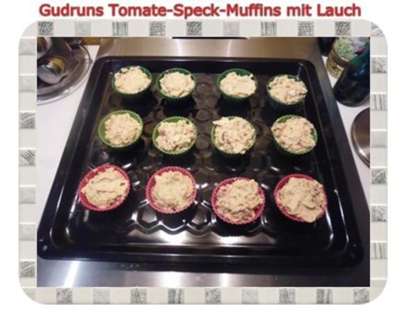 Muffins: Tomate-Speck-Muffins mit Lauch - Rezept - Bild Nr. 11