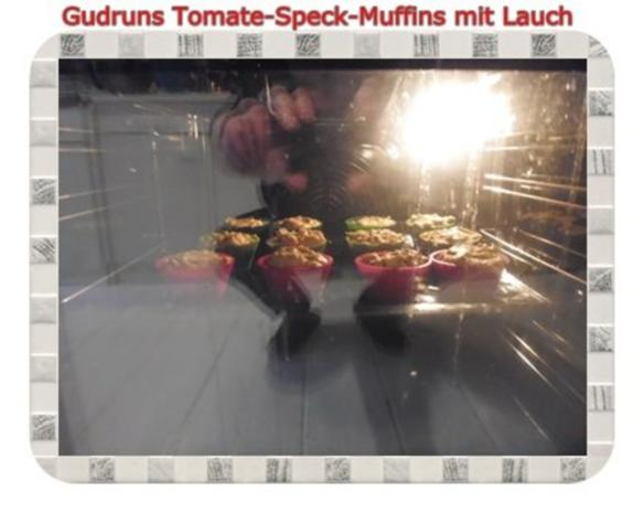 Muffins: Tomate-Speck-Muffins mit Lauch - Rezept - Bild Nr. 12