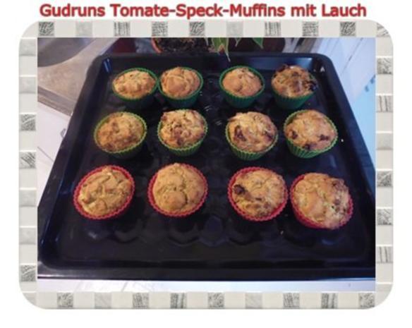 Muffins: Tomate-Speck-Muffins mit Lauch - Rezept - Bild Nr. 14