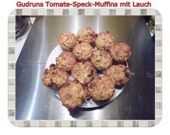 Muffins: Tomate-Speck-Muffins mit Lauch - Rezept - Bild Nr. 15