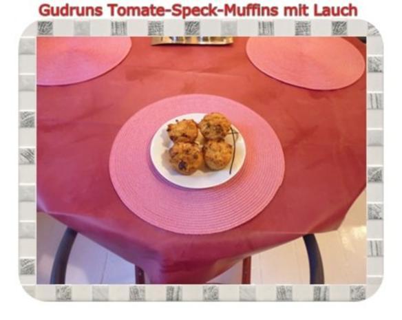 Muffins: Tomate-Speck-Muffins mit Lauch - Rezept - Bild Nr. 16