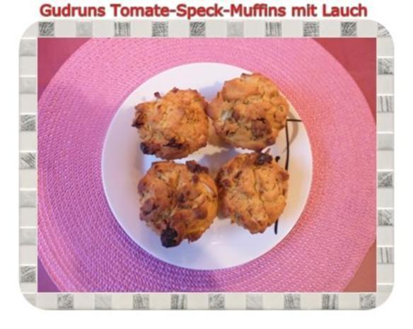 Muffins: Tomate-Speck-Muffins mit Lauch - Rezept - Bild Nr. 17