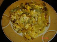 Maultaschen mit Zwiebel und Ei - Rezept
