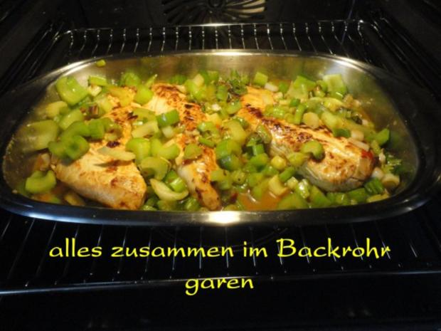 mariniertes Puten Filet in Staudensellerie Gemüse - Rezept - Bild Nr. 14