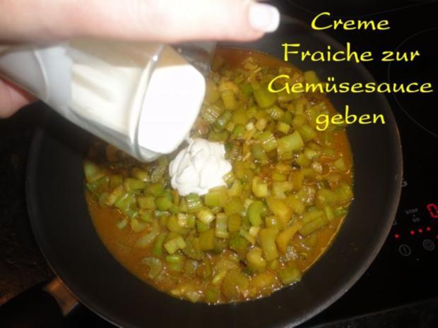 mariniertes Puten Filet in Staudensellerie Gemüse - Rezept - Bild Nr. 17