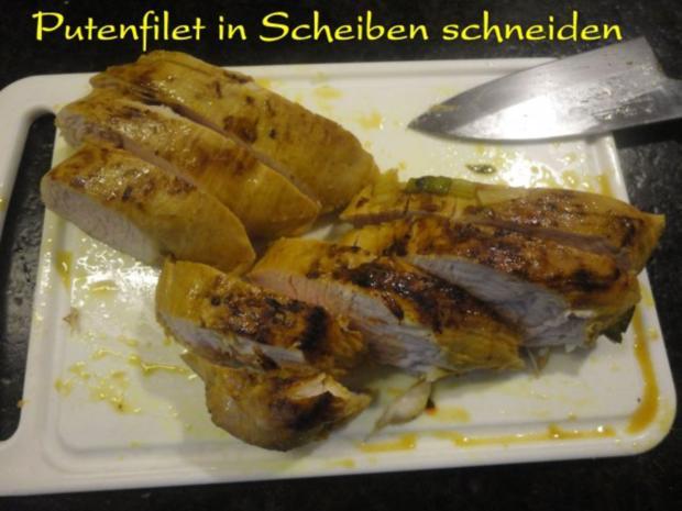 mariniertes Puten Filet in Staudensellerie Gemüse - Rezept - Bild Nr. 18