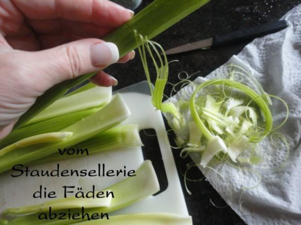 mariniertes Puten Filet in Staudensellerie Gemüse - Rezept - Bild Nr. 6