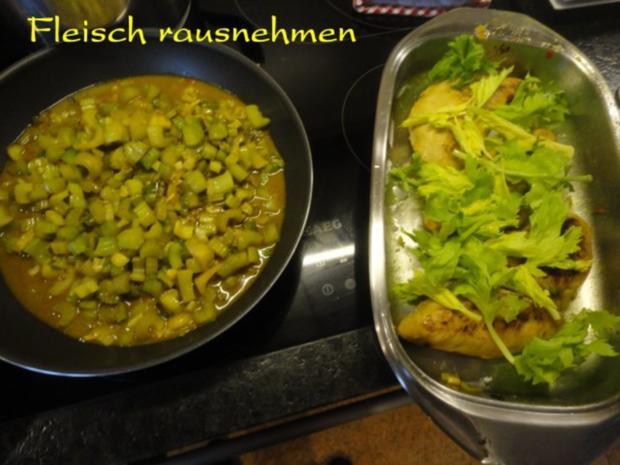 mariniertes Puten Filet in Staudensellerie Gemüse - Rezept - Bild Nr. 15
