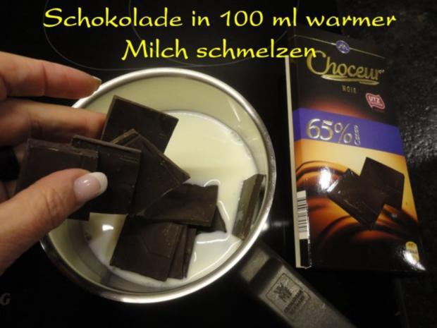 """Schoko - Grieß - Flammerie """" Mozart """" - Rezept - Bild Nr. 4"""