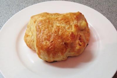 Backen: Apfel-Marzipan-Taschen - Rezept