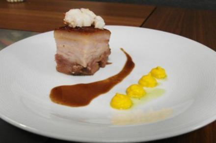 Schweinebauch-Hummer-Port - Rezept