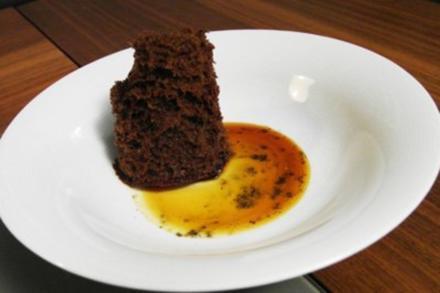 Schokolade mit Fleur de Sel und Karamell - Rezept