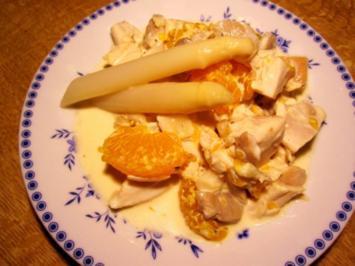 """Hähnchenbrust-Salat  """"Ruck-Zuck"""" ... - Rezept"""