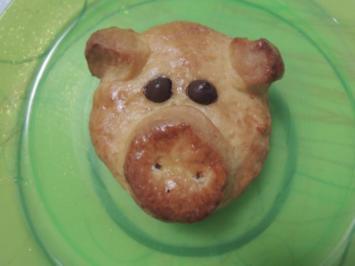 Rezept: Glücksschweine