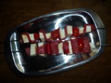 Rindfleisch-Sellerie Grillspieße - Rezept