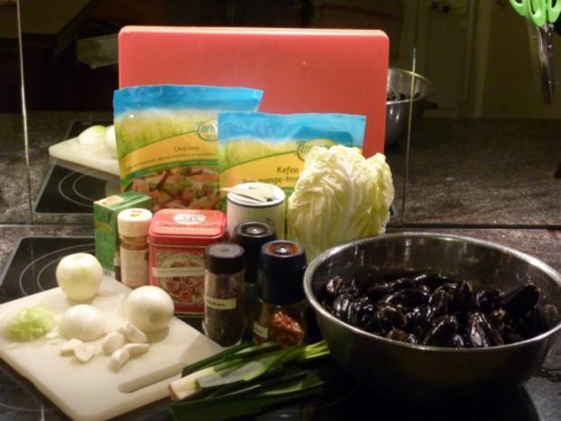 Miesmuscheln an Gemüse-Currysauce - Rezept - Bild Nr. 2