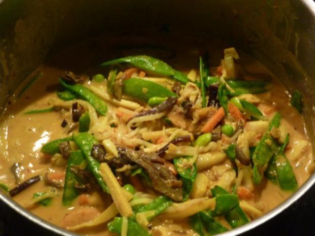 Miesmuscheln an Gemüse-Currysauce - Rezept - Bild Nr. 5