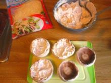 Gefüllte Champignonköpfe mit Schinken und Frischkäse - Rezept