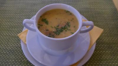Suppen & Eintöpfe : Grieß - Süppchen mit geröstetem Amaranth - Rezept