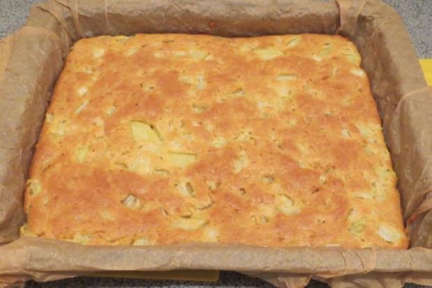 Backen: Mini-Kartoffelkuchen, herzhaft - Rezept - Bild Nr. 4