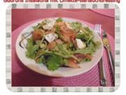 Salat: Insalatina mit Limette-Bärlauch-Dressing - Rezept