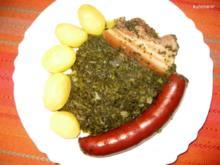 Grünkohl mit Lungwurst - Rezept