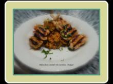 Hähnchen-Kebab mit Gemüse-Bulgur - Rezept