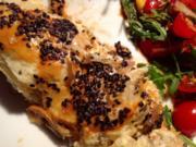 Ricotta mit Tomaten und Paprika im Blätterteig - Rezept