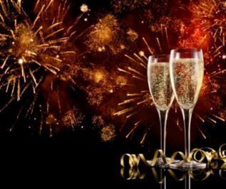 Neujahrsgrüße 2015 - Rezept