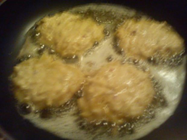 Wildlachs mit Blattspinat ala Silke, dazu selbstgemachte Kartoffelrösti - Rezept - Bild Nr. 6