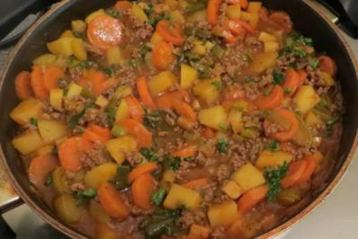 Rezept: Kochen: Die Suppe aus der Pfanne ;-)