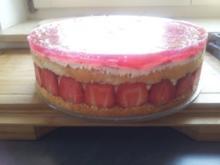 Quark - Erdbeer - Torte - Rezept