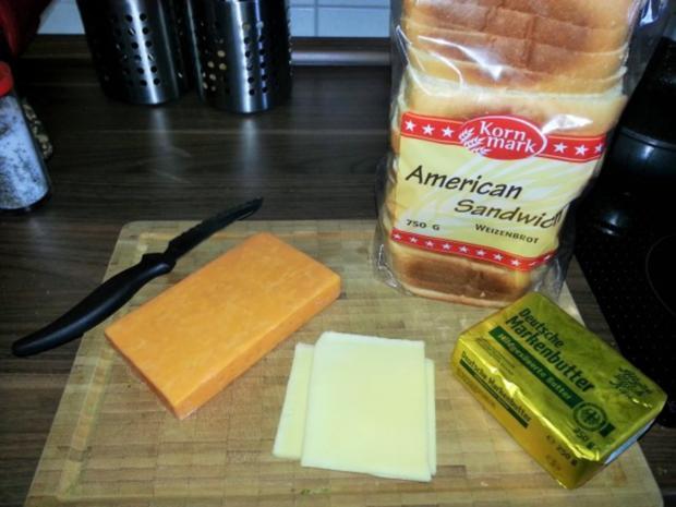 Cheese Sandwich - Rezept - Bild Nr. 2