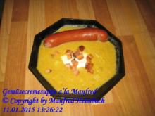 Suppen – Gemüsecremesuppe a'la Manfred - Rezept