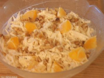 Fruchtiger Kohl-Salat - Rezept