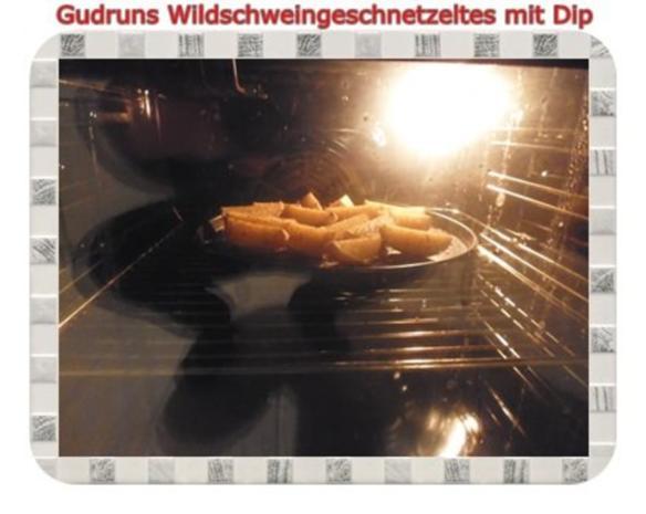 Fleisch: Wildschweingeschnetzeltes mit Dip - Rezept - Bild Nr. 11