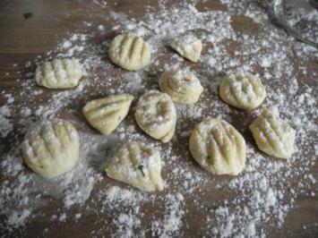 Gnocchis mit  Hartweizengrieß - Rezept