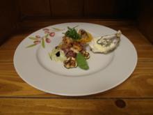 Thunfischtatar in Zucchinicreme - Rezept