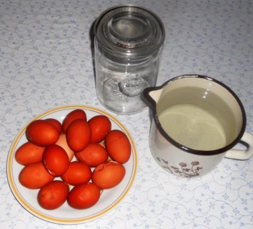 """""""Soleier - à la Erika"""", diese Eier schmecken nicht nur zu Ostern. (Rzpt. um 1951) - Rezept - Bild Nr. 5"""