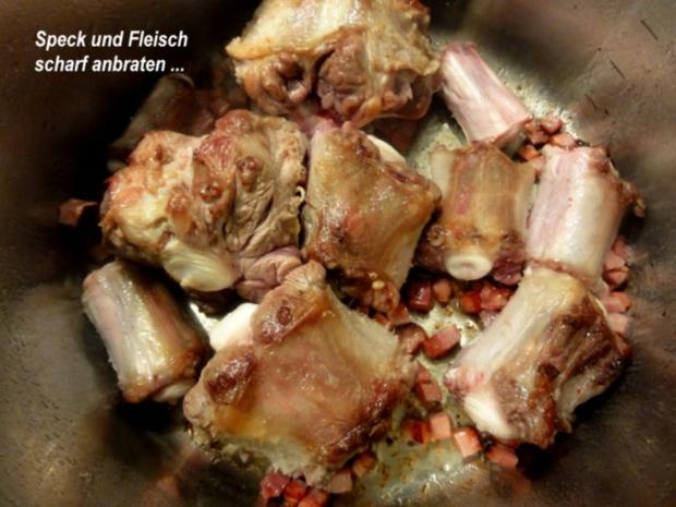 Suppe:   OCHSENSCHWANZ - Suppe - Rezept - Bild Nr. 4