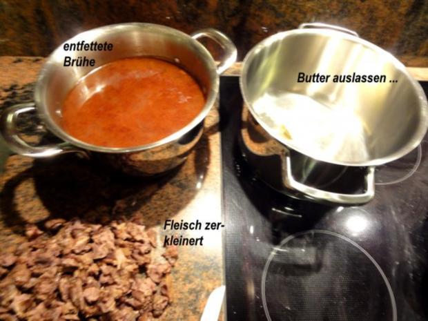 Suppe:   OCHSENSCHWANZ - Suppe - Rezept - Bild Nr. 9